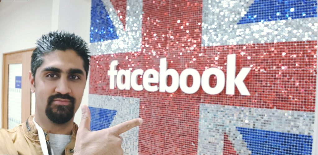 Depesh Mandalia at Facebook HQ London